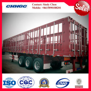 ISO CCC Approved 3 Axles 32t Stake / Fence Truck Trailer pictures & photos