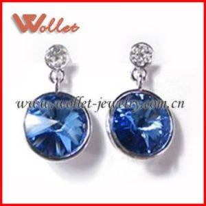 Fashionable Sapphire Earring for Wedding Gifts (STE-0410)