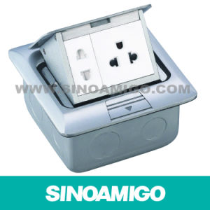 Aluminum 45module Type Daming Pop-up Floor Box with Sockets pictures & photos