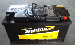 Hot Sell! DIN88 Dry Charged Car Battery pictures & photos