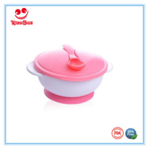 FDA Standard Baby Feeding Bowl with Spoon pictures & photos
