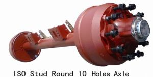 ISO Stud Round 10holes Axle pictures & photos