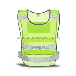 Lightweight Hi-Vis Mesh 3m Reflective Running Vest for Outdoor Sport pictures & photos