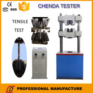 We-300b Digital Display Hydraulic Universal Testing Machine+Tensile Test pictures & photos