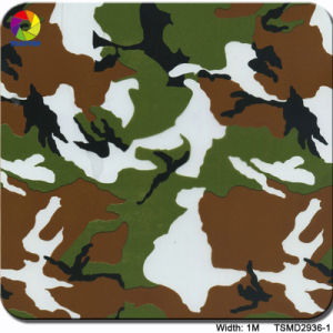 Tsautop 1m Tsmd2939-3 Camo Pattern Hydrographic Film Water Transfer Printing Film pictures & photos