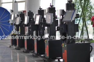 20W 30W 50W Ipg Fiber Laser Marking Machine for Pipe, /PVC/HDP/PE/CPVC/UPVC etc Plastis Non-Metal pictures & photos