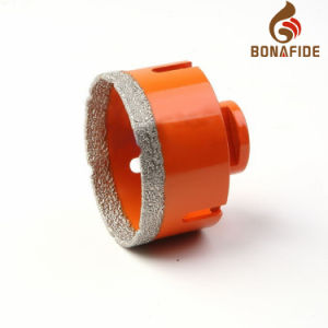 Popular Type High Speed Brazed Diamond Dry Core Bits-Bdm035 pictures & photos