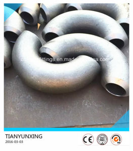 ASTM B16.9 180 Degree Seamless Carbon Steel Pipe Elbow pictures & photos