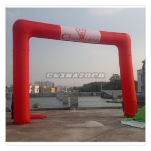 Red Color Inflatable Archway with Cutomized Logo Printings pictures & photos
