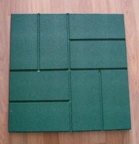 Very Soft Outdoor Playground Rubber Flooring Tile pictures & photos