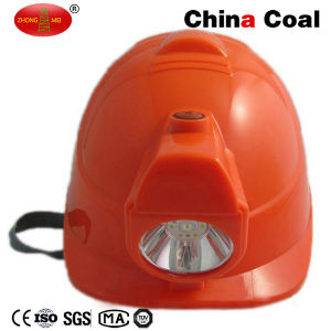 Lm-N Coal Miner Safety Helmet with LED Light for Mining pictures & photos