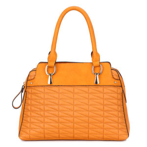 Europe Fashionable Wrinkled Leather Woman Handbag (MBNO034088) pictures & photos
