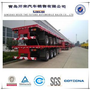 CIMC 3axles 70tons Container Semitrailer Trailer Truck pictures & photos