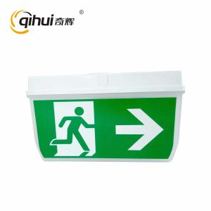IP 65 5W Wall Mounted Emergency Exit Sign Qh-F2084
