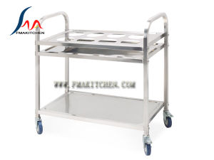 Stainless Steel Saucing Cart (Square tube) , Two Size pictures & photos