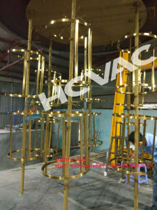 Stainless Steel Display/Showcase/Furniture Golden Color PVD Titanium Coating Machine/Vacuum Gold Plating Machine pictures & photos