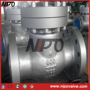 API 6D Cast Steel Swing Check Valve (H44H) pictures & photos