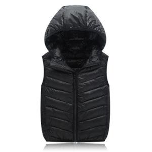 Wholesale Stock Jacket Winter Warm Vest Down Jacket 602 pictures & photos