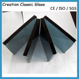 6mm Dark Grey Tinted Float Glass for Decorative Glass/Building Glass pictures & photos