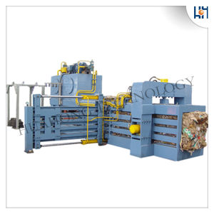 Full Automatic Waste Paper Baler Recycling Machine pictures & photos