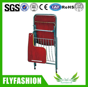 Modern Wooden Folding Student Chair with Tablet Arm (SF-37F) pictures & photos