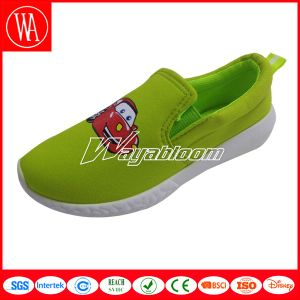 Pure Fruit Color Children′s Casual Shoes with Pattern pictures & photos