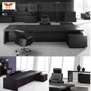 Fsc Certification Durable Modern MDF L Shape Office Executive Desk pictures & photos