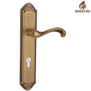 High Quality Full Zinc Door Lock Handle-055 pictures & photos