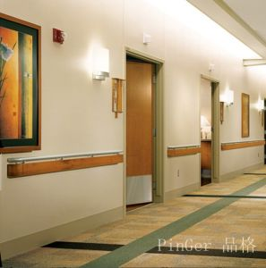 Hospital Wall Sheet System Plastic Handrails pictures & photos