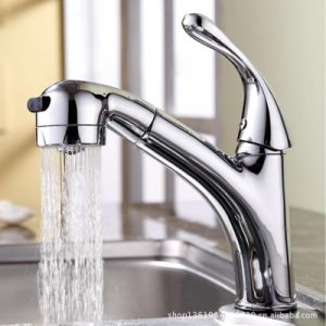 Kitchen Sink Faucet Brass Mixer