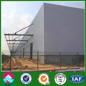 Prefab Steel Hisense Warehouse Building with Sandwich Panel Cladding (XGZ-SSB155) pictures & photos