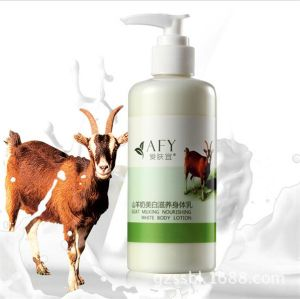 Afy Goat Milk Body Cream Remove Melanin Whitening Body Lotion pictures & photos