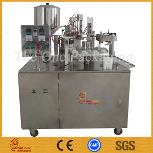 Semi-Automatic Plastic Tube Filling and Sealing Machine pictures & photos