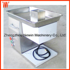 Desktop 250kg/H Electric Commercial Meat Cutter Machine pictures & photos