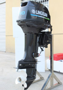 40HP Outboard Motor Long Leg CE Approved Two Stroke