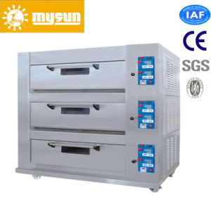 Mysun Degital Panel Gas Electronic 12 Trays Deck Oven pictures & photos