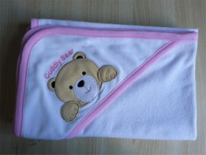 100% Cotton Baby Hooded Towels with Embroidery pictures & photos