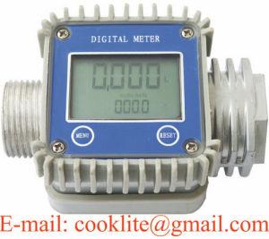 Fuel Diesel Gasoline Kerosene Oil Gear Flow Meter / Digital Flow Meter pictures & photos