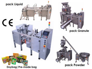 Automatic Granule Packing Machine / Premade Pouch pictures & photos