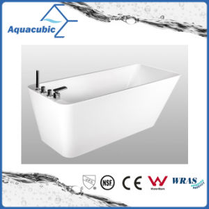 Bathroom Pure Acrylic Seamless Freestanding Bathtub (AB6505) pictures & photos