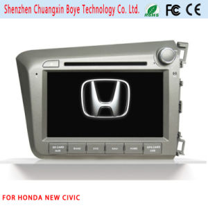 Car DVD Player with GPS Navigation for Honda New Civic