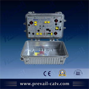 Aluminum Waterproof 1GHz Outdoor Bi-Directional CATV RF Amplifier (WA1200-CEAM) pictures & photos