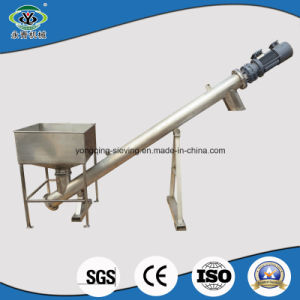 Cement Inclined Spiral Auger Feeder Screw Conveyor pictures & photos