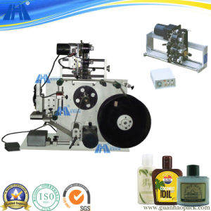 Semi-Auto Pneumatic Flat Bottle Sticker Labeling Machine (Gh-P150)