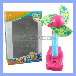 Flexible Mini Clip Fan with Flower Design (Fan-01) pictures & photos