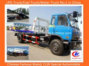 4X2 5ton Dongfeng Flatbed Recovery Truck Dongfeng Towing Truck pictures & photos