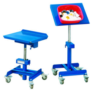 Adjustable Work Positioner Trolley with Tilting Function pictures & photos