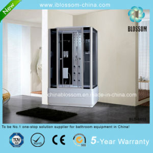 Factory Made Foot Massage Steam Complete Shower Enclosure/Cubicle (BLS-9855) pictures & photos