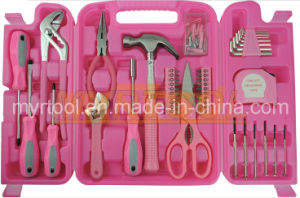 149PCS Ladies Pink Household Tool Kit (FY149B) pictures & photos