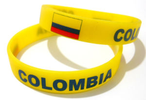 Club Silicone Bracelet with Colombia Logo pictures & photos